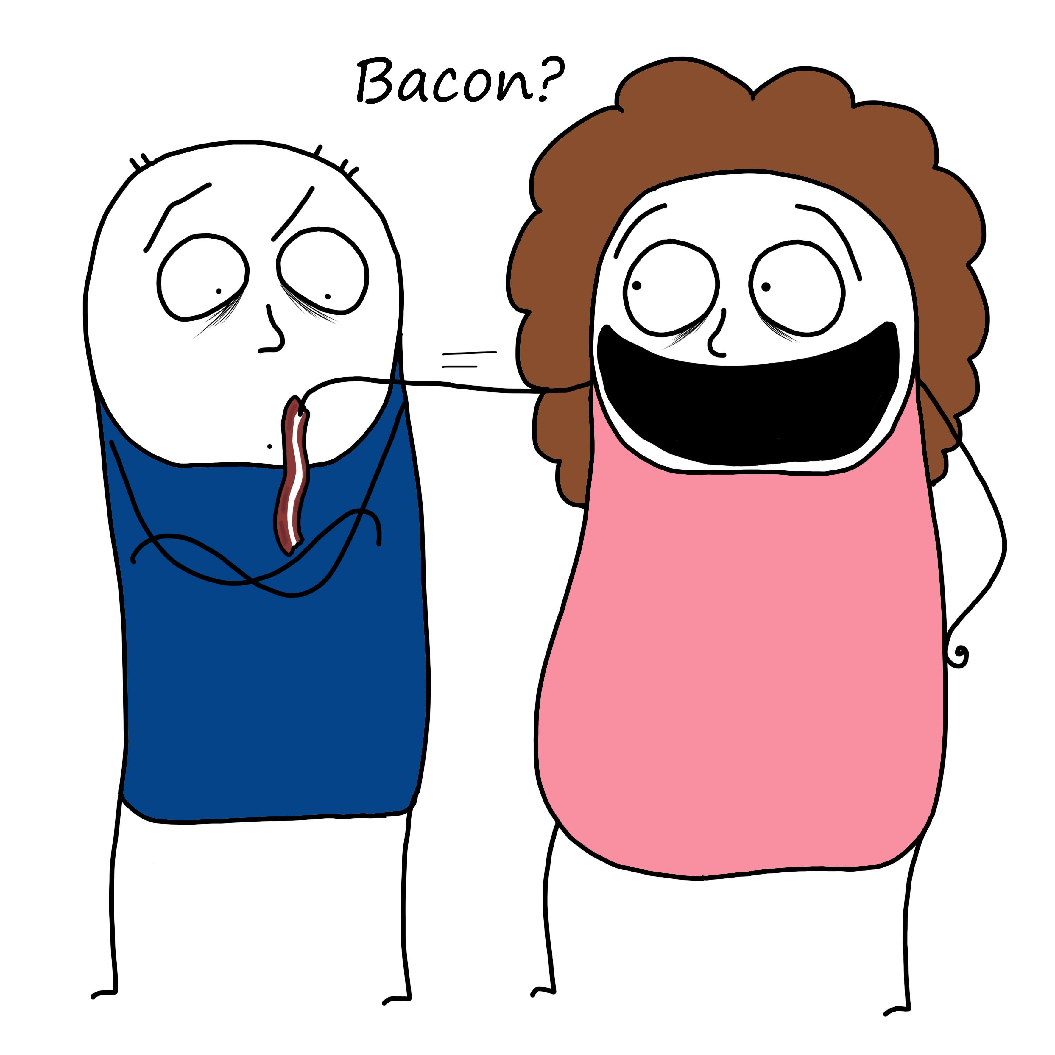 Bacon til blog