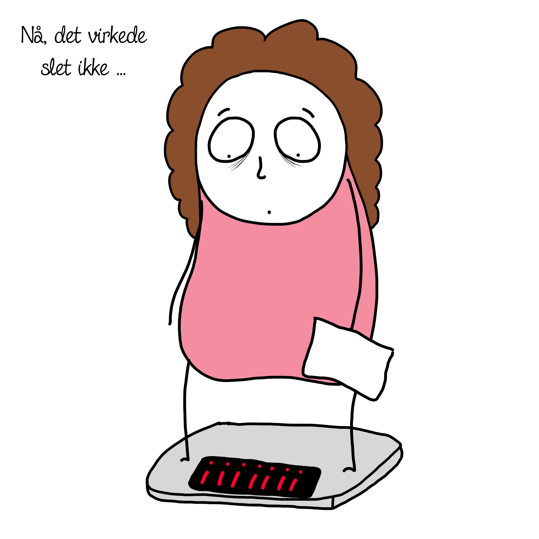 vægttab 2